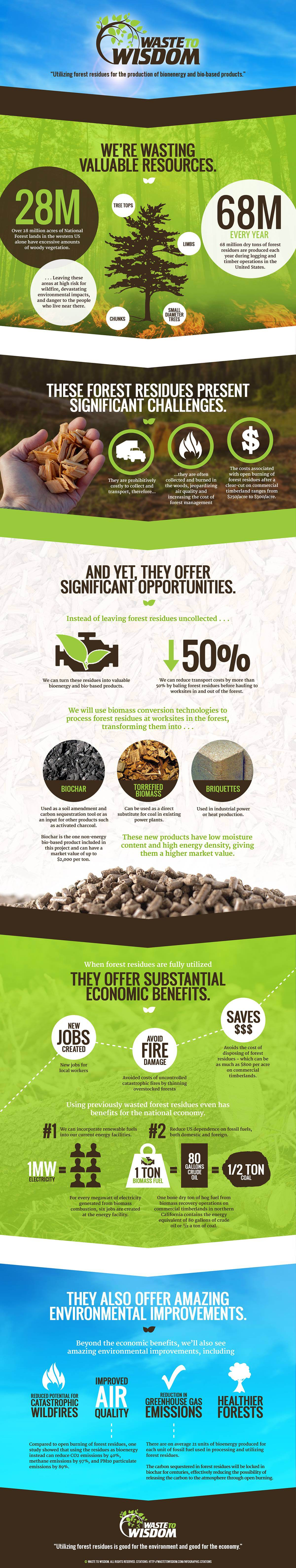 Waste to Wisdom Infographic